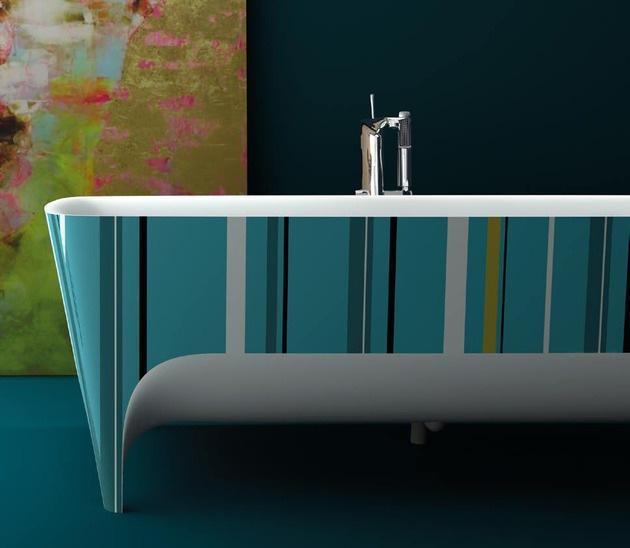 2045 dizayn 4 Ванны Accademia с поразительно красивыми формами от дизайнера Teuco