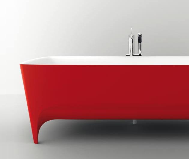 2045 dizayn 5 Ванны Accademia с поразительно красивыми формами от дизайнера Teuco