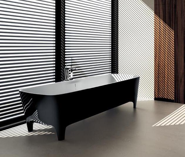 2045 dizayn 6 Ванны Accademia с поразительно красивыми формами от дизайнера Teuco