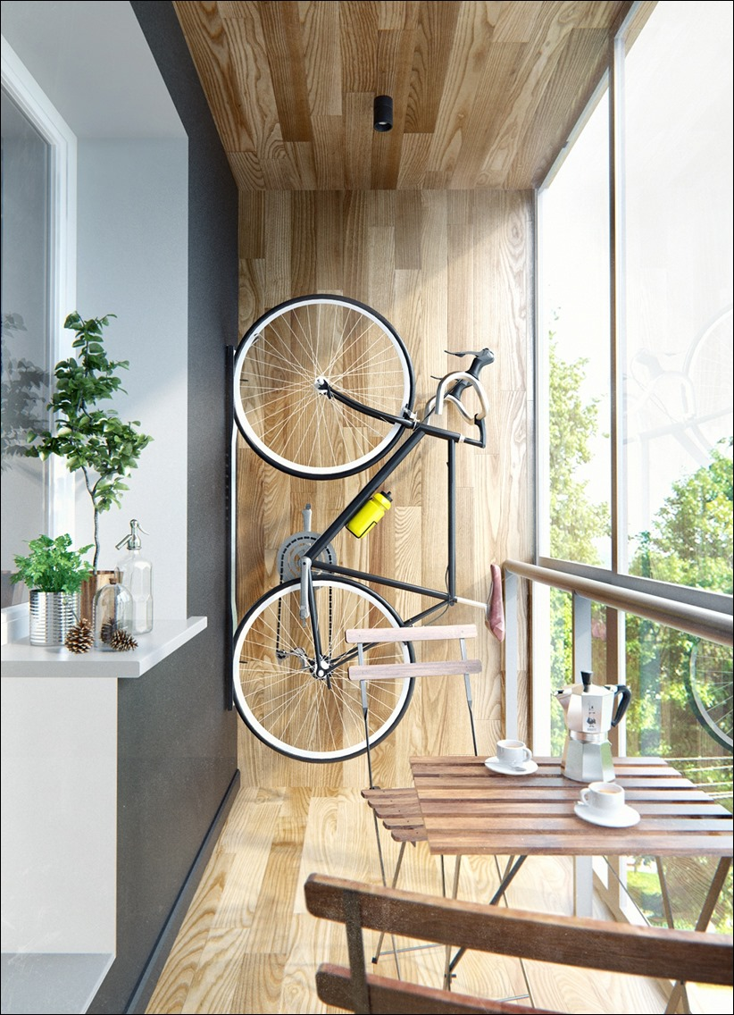 2502 dizayn interera 15 Эклектика квартиры с открытой планировкой