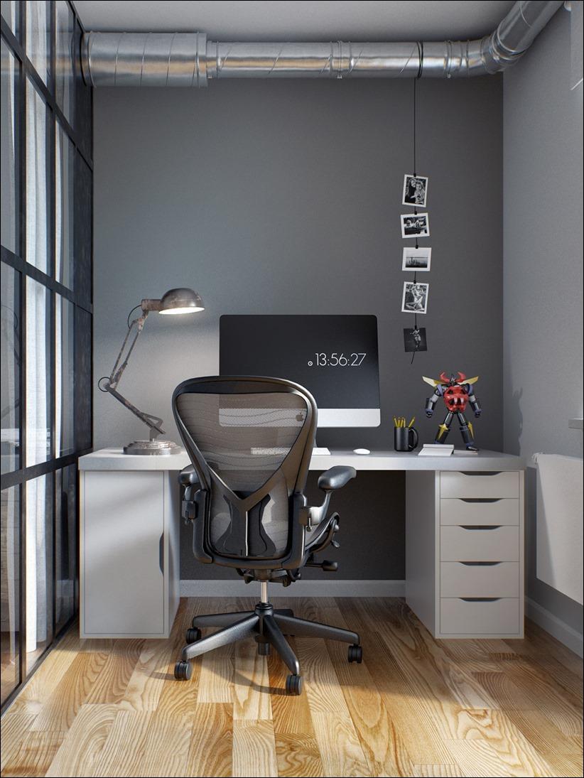 2502 dizayn interera 16 Эклектика квартиры с открытой планировкой