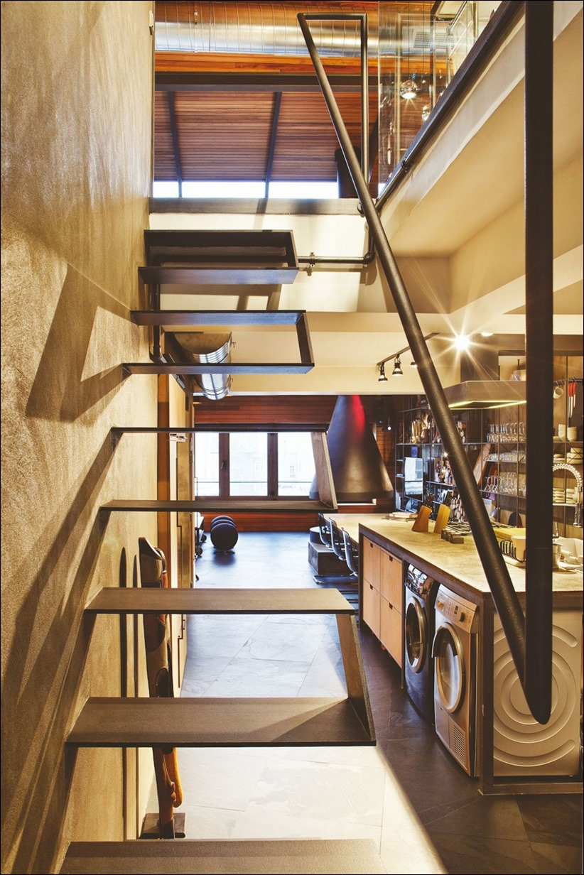 dizayn interera 13 Лофт Karakoy от студии Ofist
