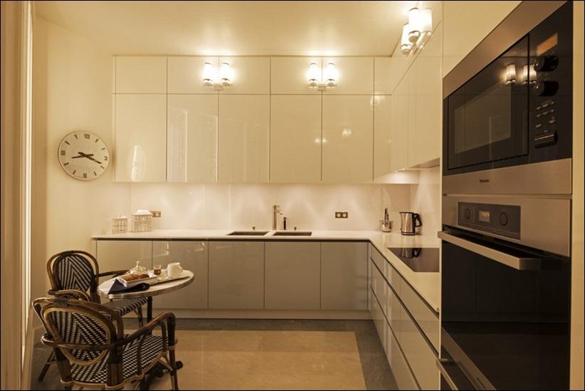 2569 dizayn interera 08 Утонченная роскошь квартира на Avenue Montaigne в Париже