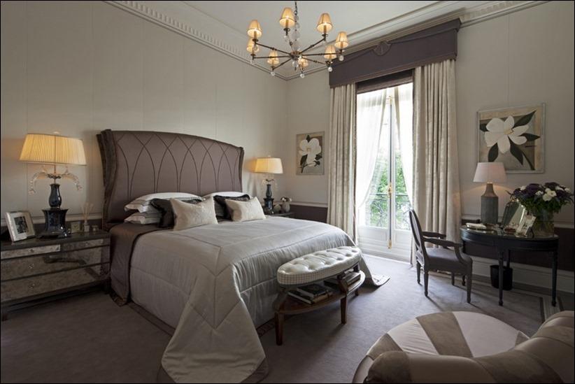 2569 dizayn interera 10 Утонченная роскошь квартира на Avenue Montaigne в Париже