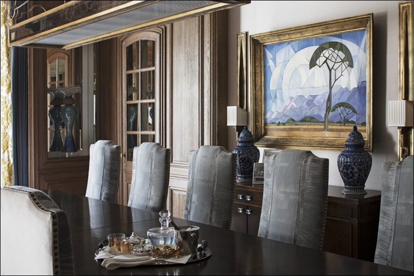 2569 dizayn interera 13 Утонченная роскошь квартира на Avenue Montaigne в Париже