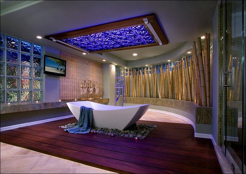 2697 dizayn interera 01 Привнесение бамбука в интерьер дома