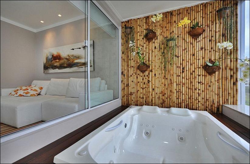 2697 dizayn interera 03 Привнесение бамбука в интерьер дома