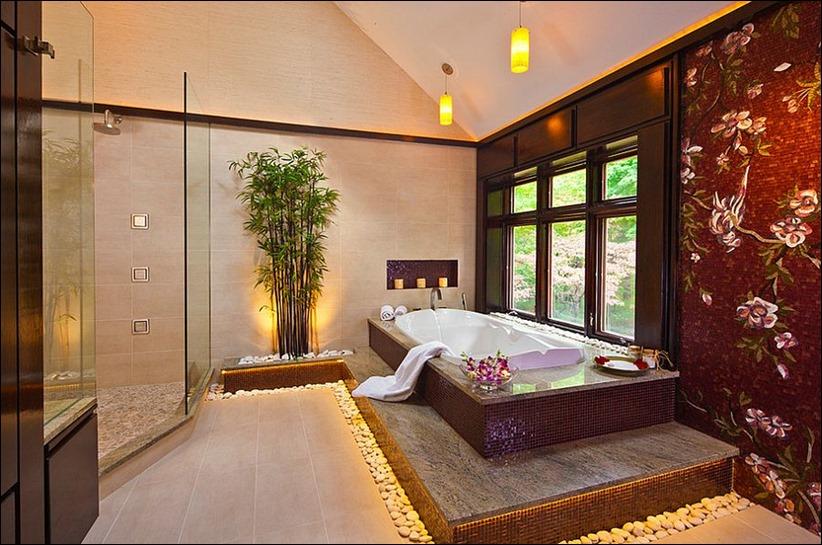 2697 dizayn interera 05 Привнесение бамбука в интерьер дома