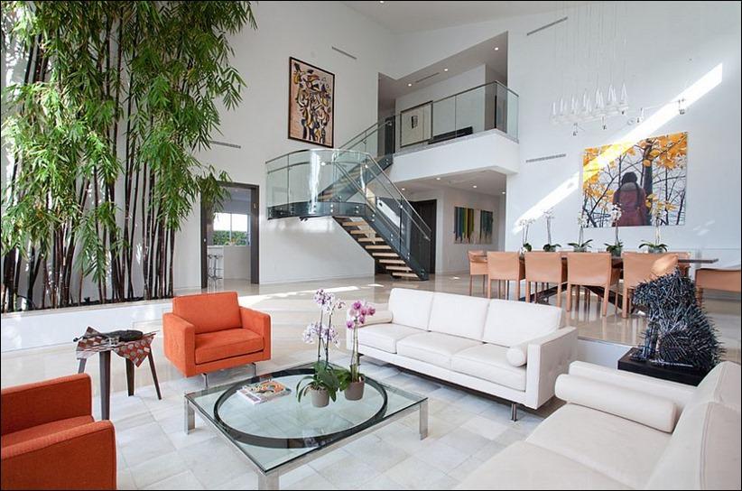 2697 dizayn interera 11 Привнесение бамбука в интерьер дома