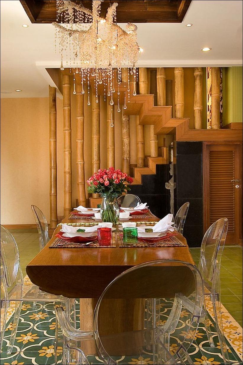 2697 dizayn interera 12 Привнесение бамбука в интерьер дома