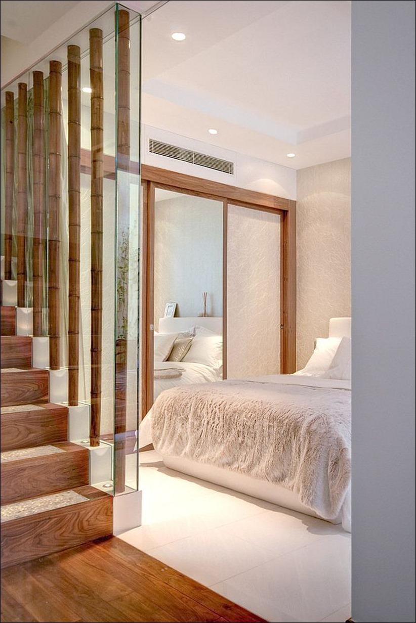 2697 dizayn interera 13 Привнесение бамбука в интерьер дома