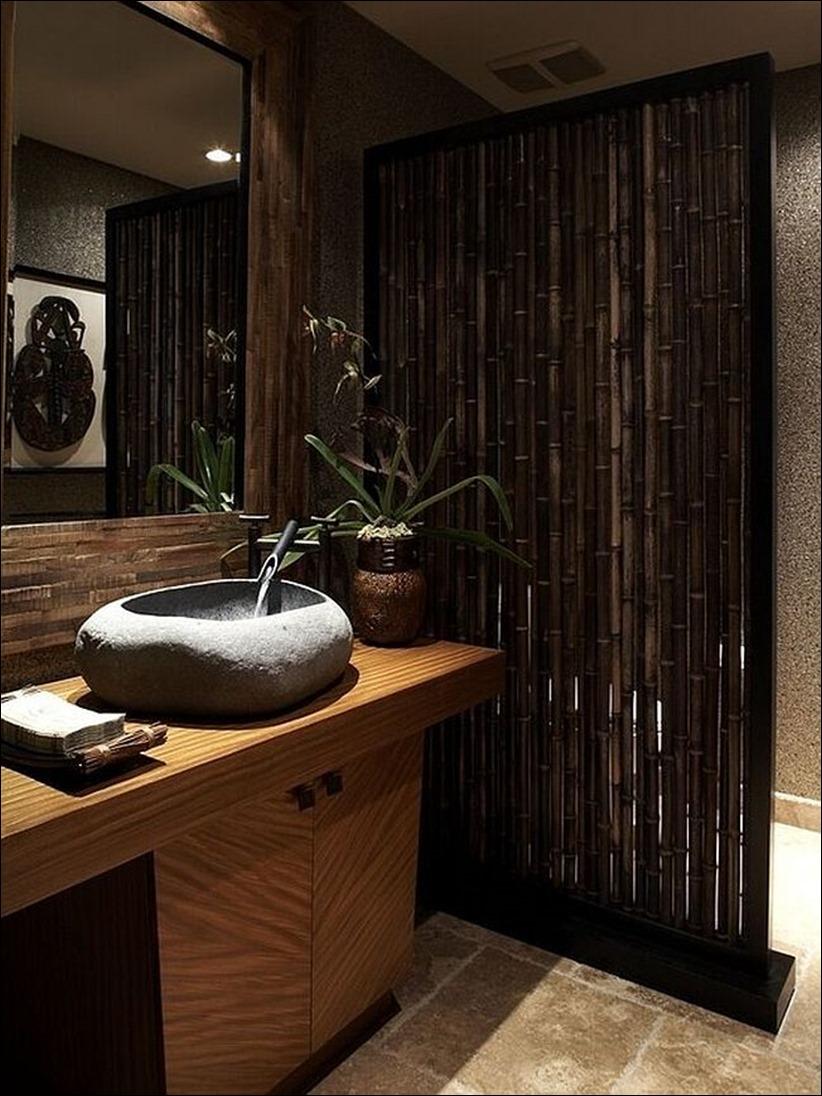 2697 dizayn interera 14 Привнесение бамбука в интерьер дома
