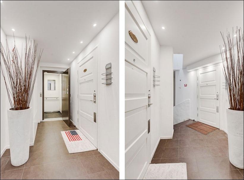 2793 dizayn interera 20 Эффектный Attic Duplex со стеклянным полом в Стокгольме
