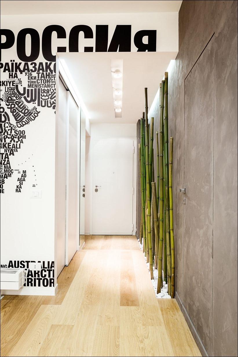 2811 dizayn interera 02 Travel House — современная квартира в Риме