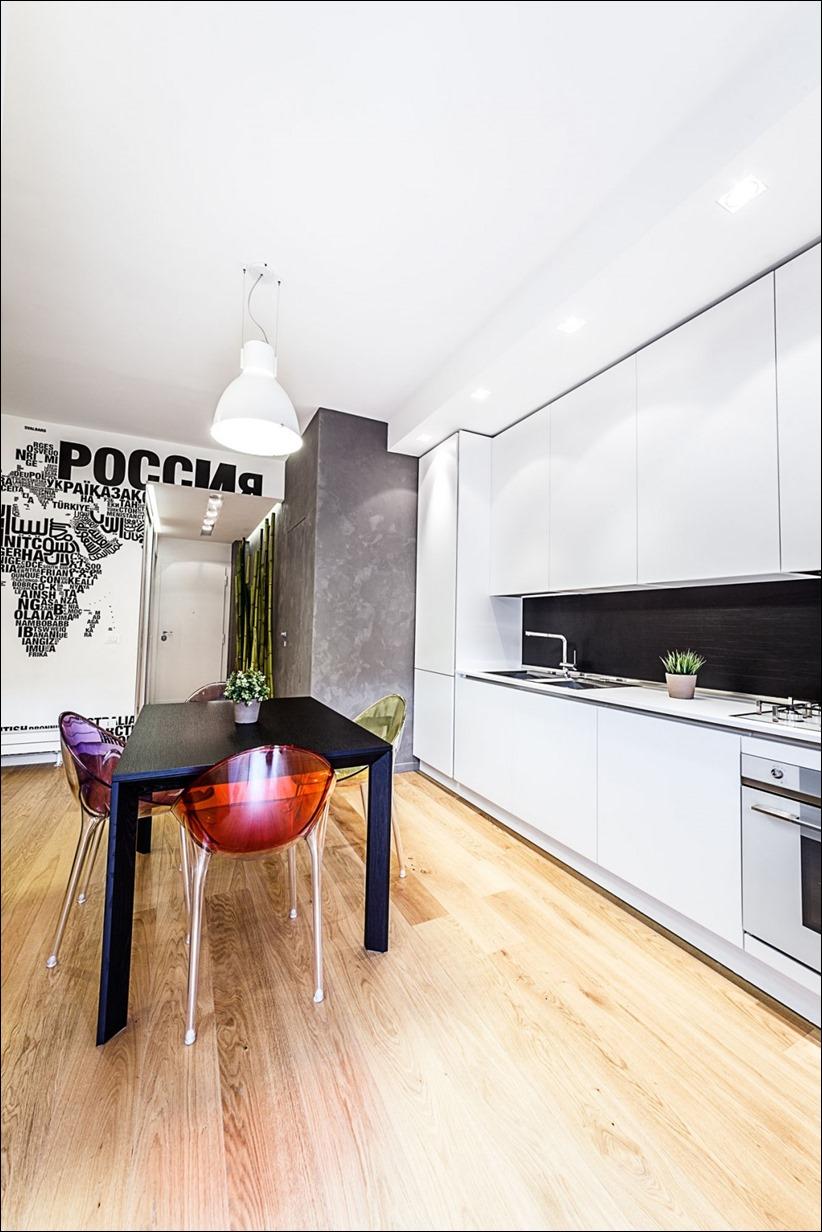 2811 dizayn interera 05 Travel House — современная квартира в Риме