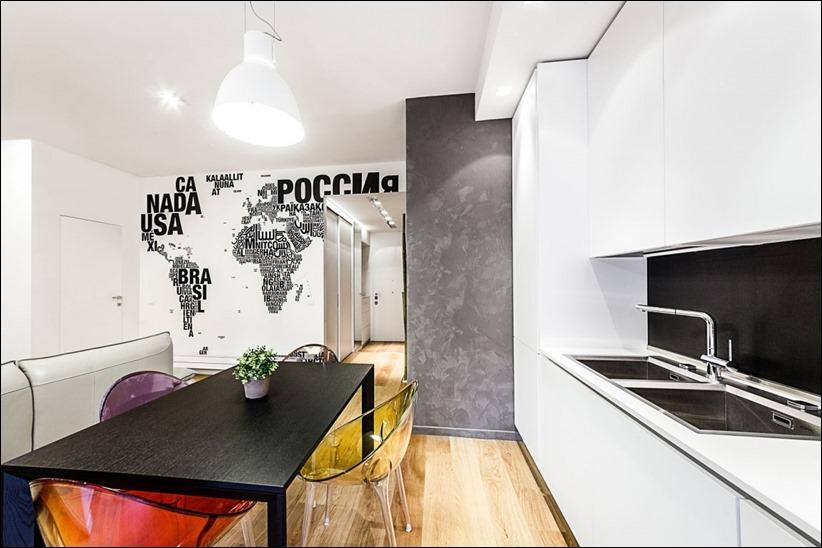 2811 dizayn interera 07 Travel House — современная квартира в Риме