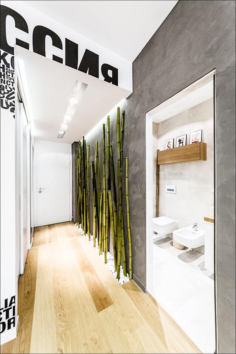 2811 dizayn interera 08 Travel House — современная квартира в Риме
