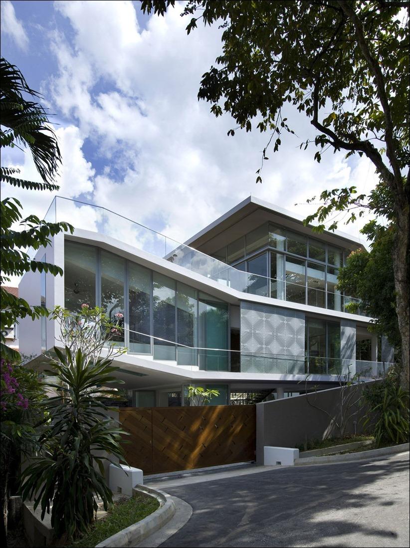 2822 zhilyie doma 02 Жилой дом в Сингапуре
