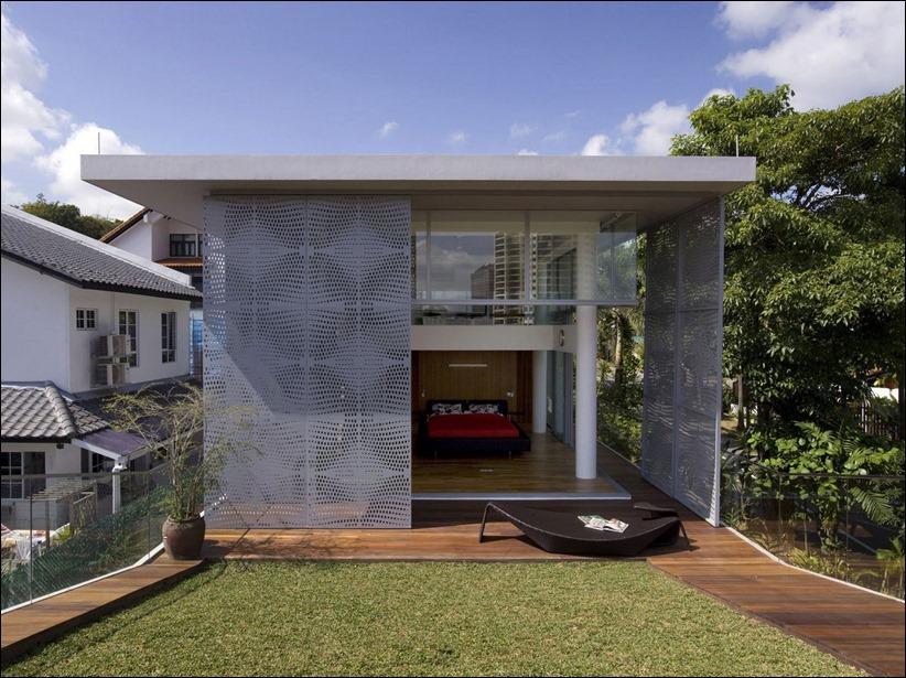 2822 zhilyie doma 05 Жилой дом в Сингапуре