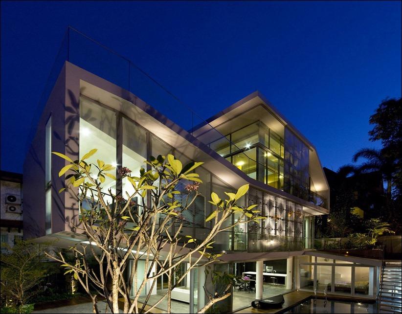2822 zhilyie doma 16 Жилой дом в Сингапуре