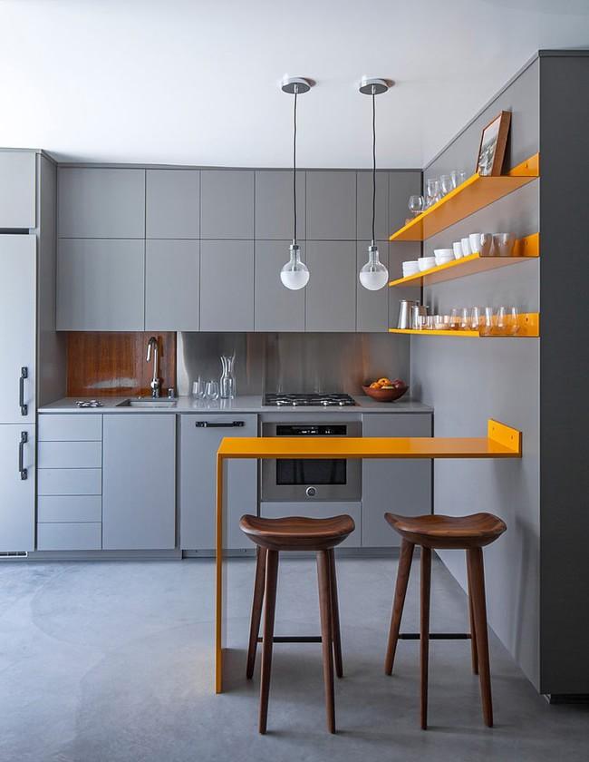 interer kvartiry v sero zheltyx tonax hqdesign kz 3 Дизайн квартиры в серо желтых тонах