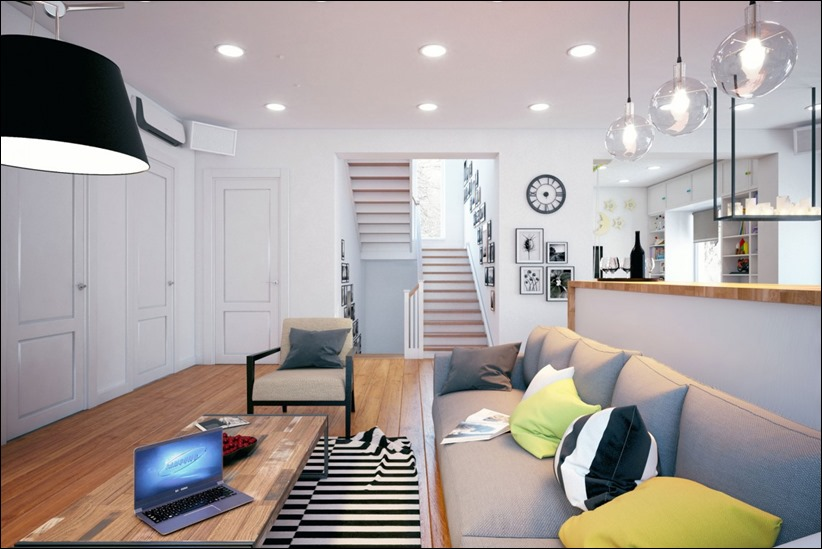 2878 dizayn interera 05 Дом в Липецке от студии Geometrium