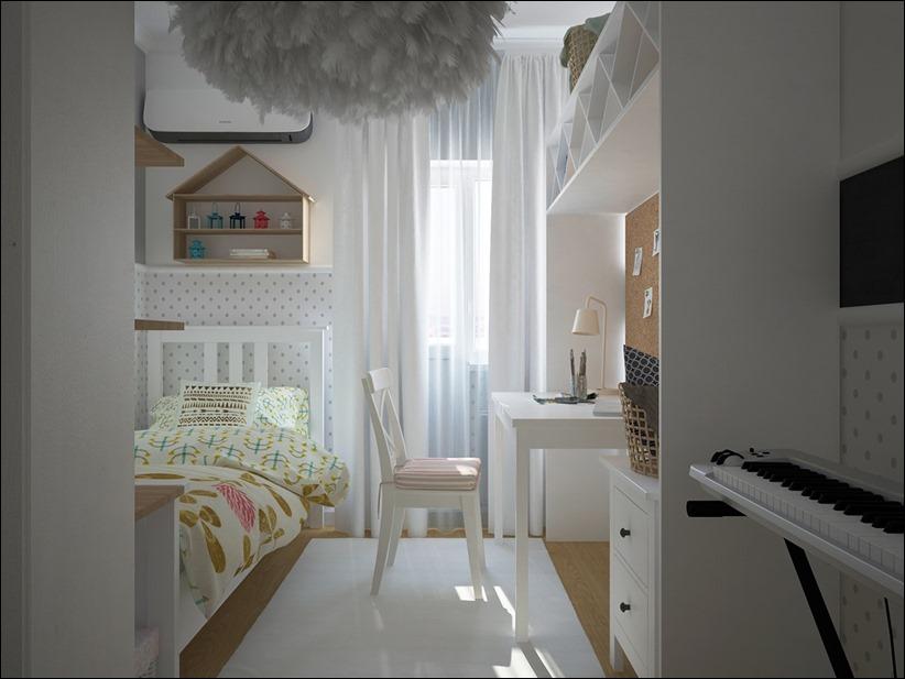 2882 dizayn interera 14 Красочные детские комнаты с игривым стилем