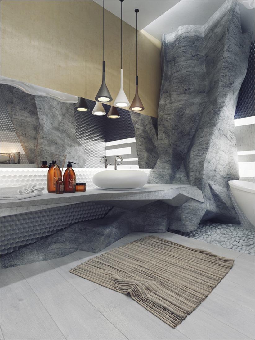 2897 dizayn interera 01 5 роскошных ванных комнат с высокой степенью детализации