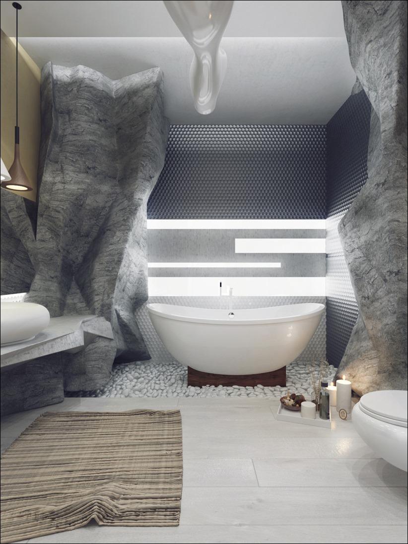 2897 dizayn interera 03 5 роскошных ванных комнат с высокой степенью детализации