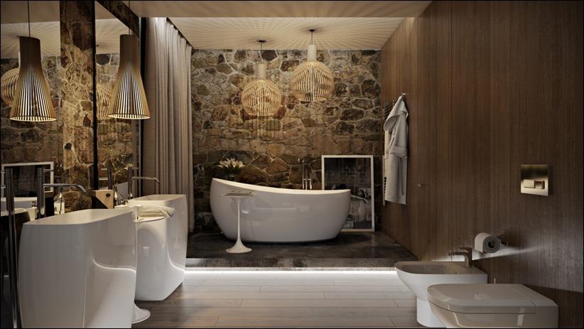 2897 dizayn interera 09 5 роскошных ванных комнат с высокой степенью детализации