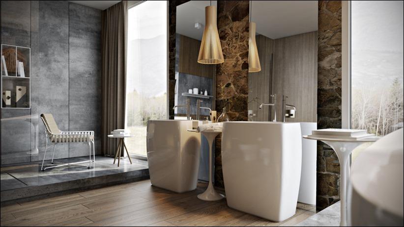 2897 dizayn interera 11 5 роскошных ванных комнат с высокой степенью детализации