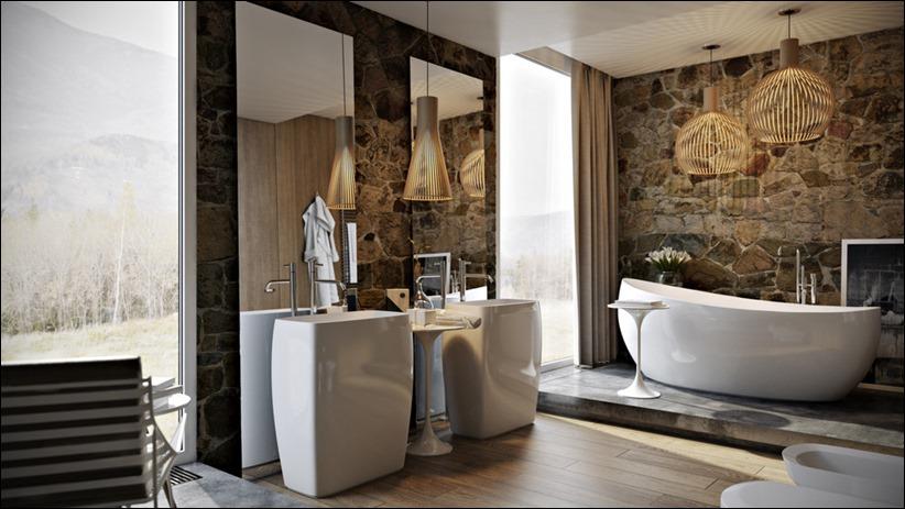 2897 dizayn interera 14 5 роскошных ванных комнат с высокой степенью детализации