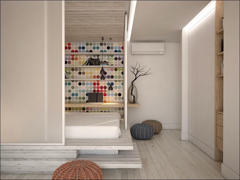 2905 dizayn interera 08 Дизайн открытой квартиры студии
