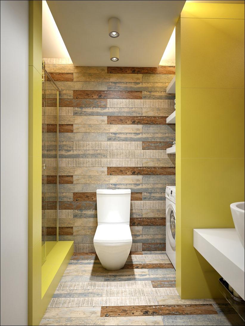 2905 dizayn interera 18 Дизайн открытой квартиры студии