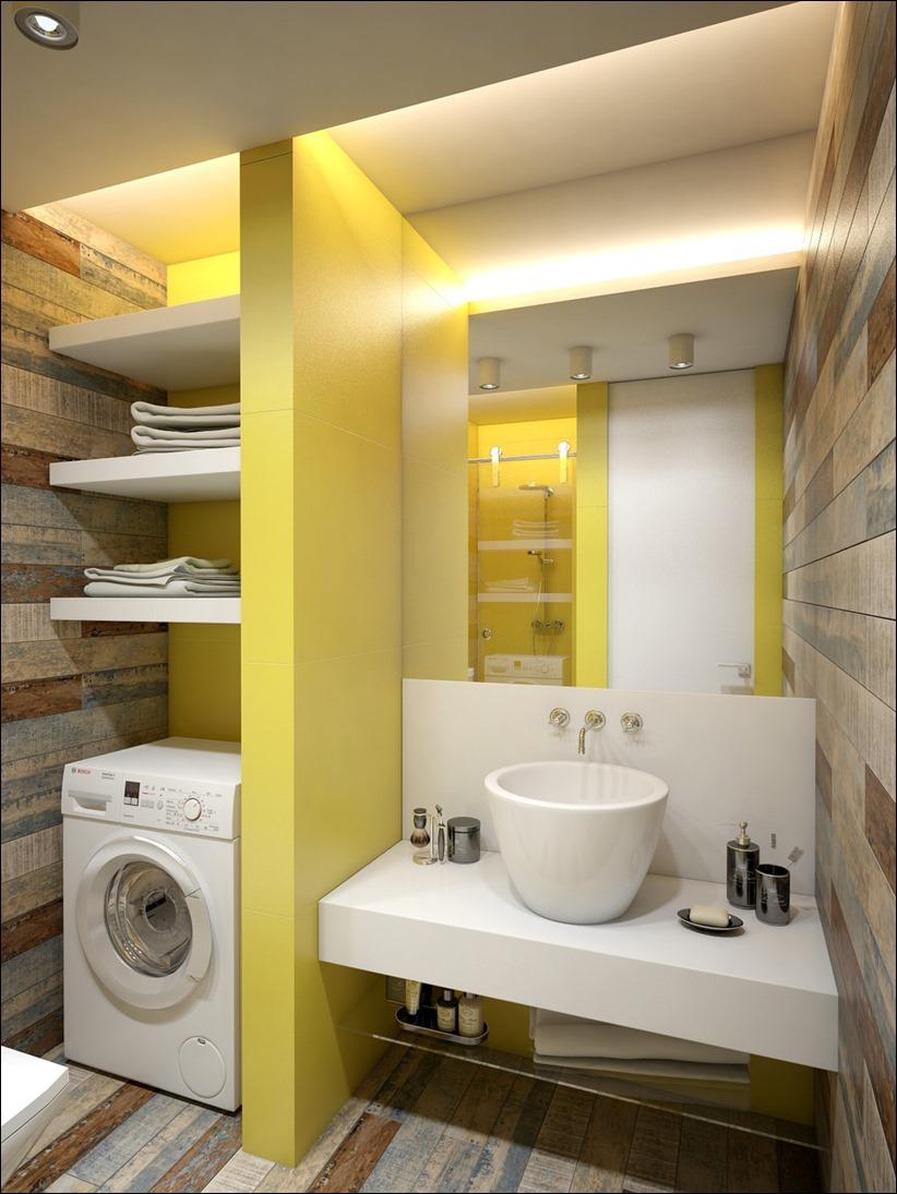 2905 dizayn interera 19 Дизайн открытой квартиры студии