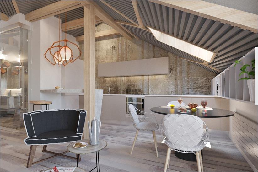 2920 dizayn interera 03 3 небольших квартир студий, оформленных в 3 различных стилях