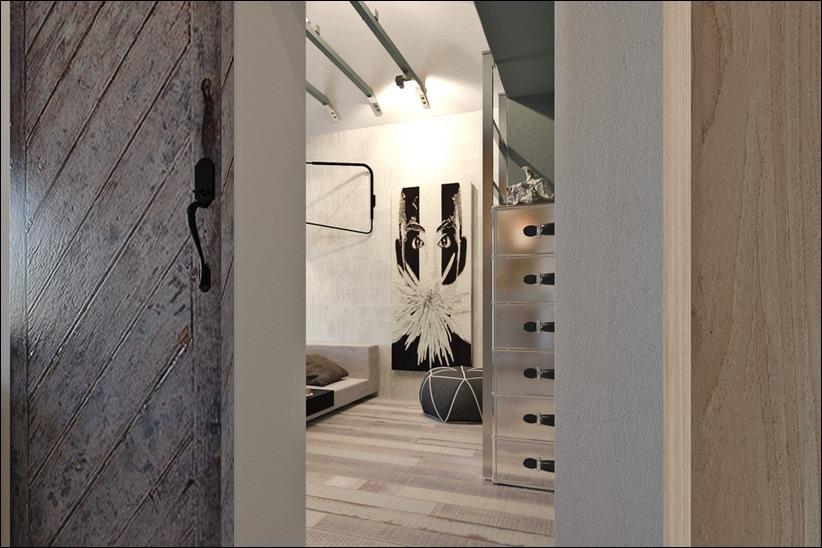 2920 dizayn interera 09 3 небольших квартир студий, оформленных в 3 различных стилях