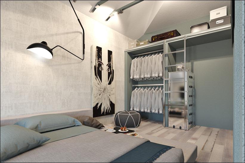 2920 dizayn interera 11 3 небольших квартир студий, оформленных в 3 различных стилях
