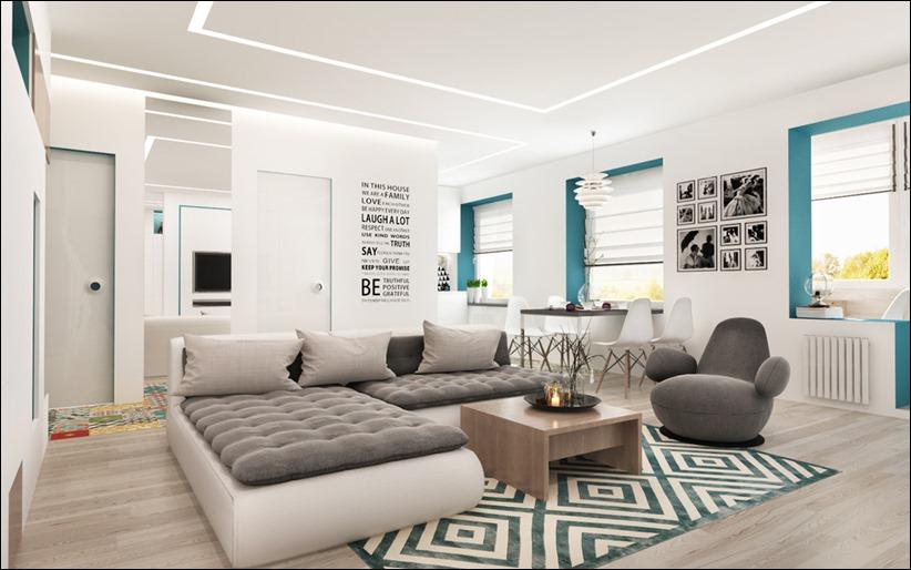 2920 dizayn interera 13 3 небольших квартир студий, оформленных в 3 различных стилях
