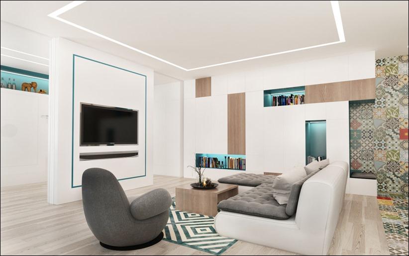 2920 dizayn interera 15 3 небольших квартир студий, оформленных в 3 различных стилях