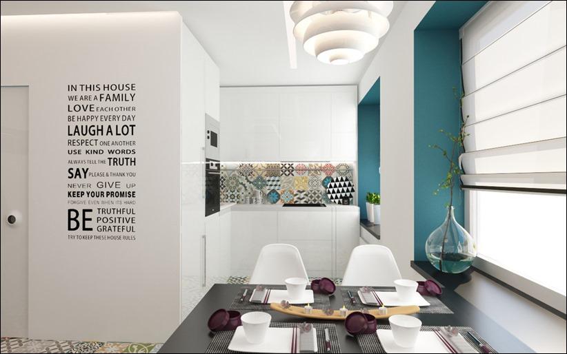 2920 dizayn interera 16 3 небольших квартир студий, оформленных в 3 различных стилях