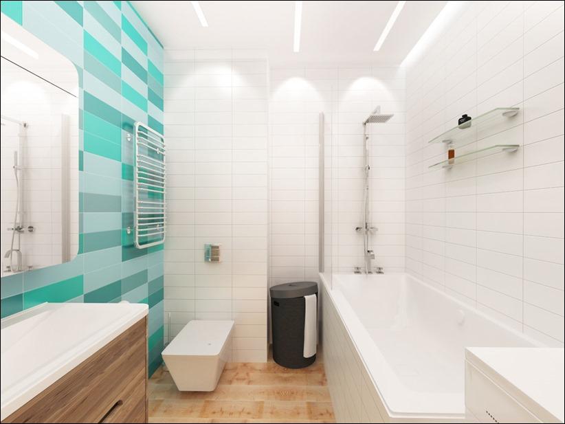2920 dizayn interera 19 3 небольших квартир студий, оформленных в 3 различных стилях