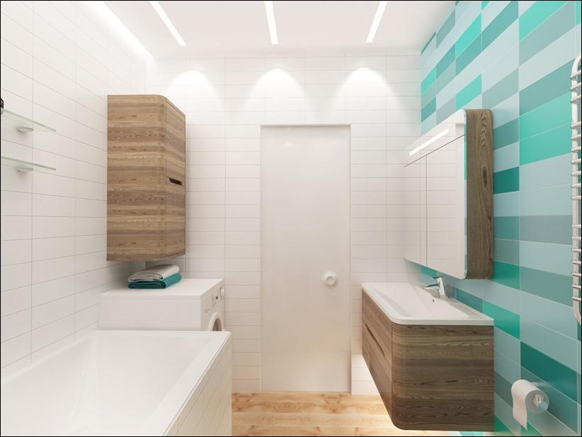 2920 dizayn interera 21 3 небольших квартир студий, оформленных в 3 различных стилях