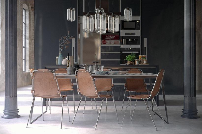 2923 dizayn interera 04 Старые цеха превращаются в стильные квартиры