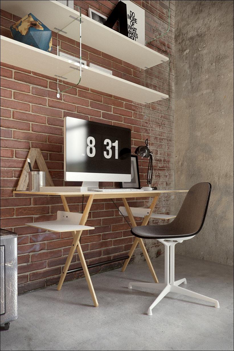 2923 dizayn interera 05 Старые цеха превращаются в стильные квартиры
