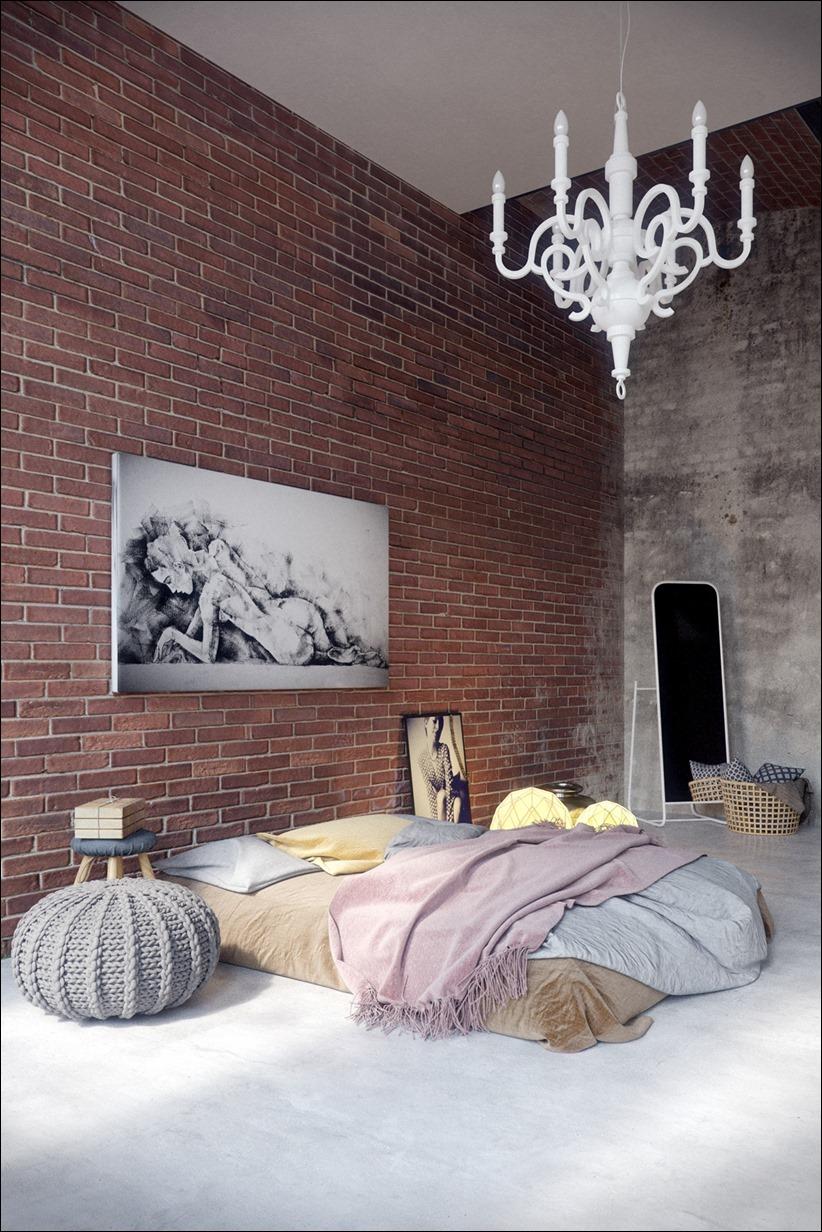 2923 dizayn interera 08 Старые цеха превращаются в стильные квартиры