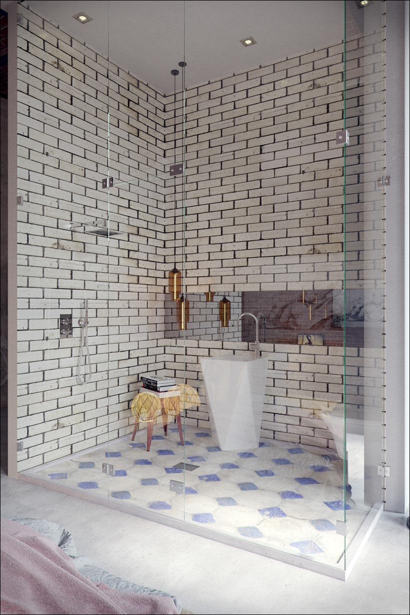 2923 dizayn interera 10 Старые цеха превращаются в стильные квартиры