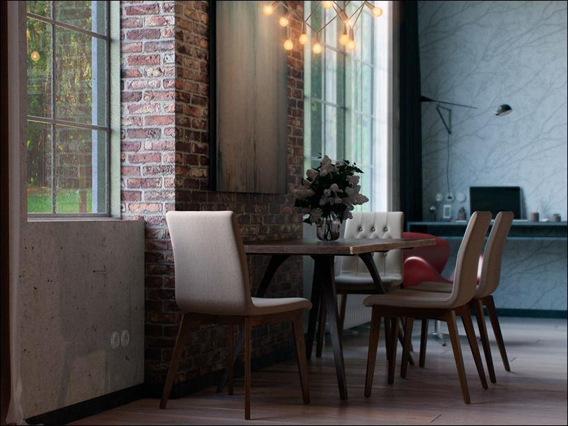 2923 dizayn interera 13 kopiya Старые цеха превращаются в стильные квартиры