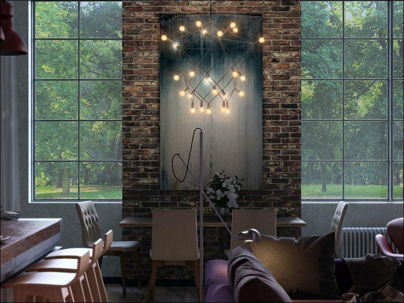 2923 dizayn interera 14 kopiya Старые цеха превращаются в стильные квартиры
