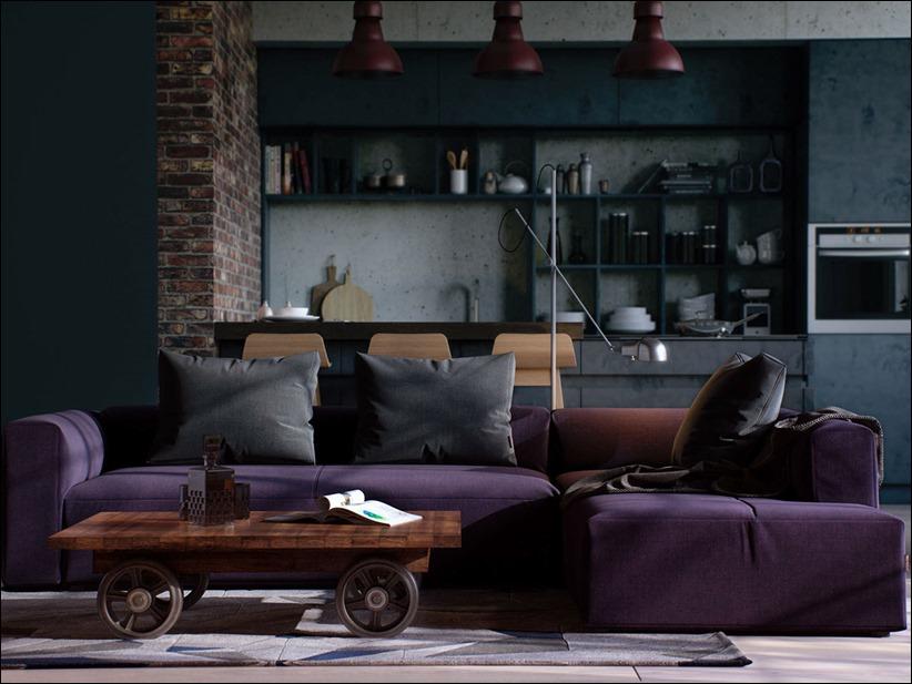 2923 dizayn interera 15 kopiya Старые цеха превращаются в стильные квартиры